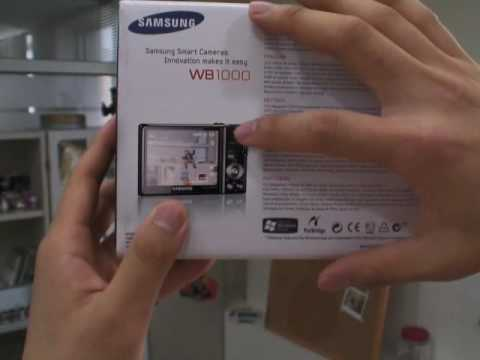 Samsung WB1000 Unboxing