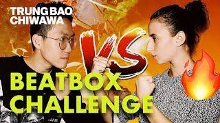 Video My Girlfriend Can Beatbox Better Than Me 😱 | Beatbox Challenge - Trung Bao & Chiwawa MP3, 3GP, MP4, WEBM, AVI, FLV Mei 2019