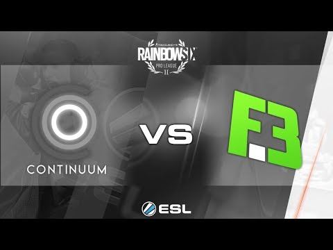 Rainbow Six Pro League - Season 3 - PC - NA - Continuum vs. FlipSid3 Tactics - Week 1
