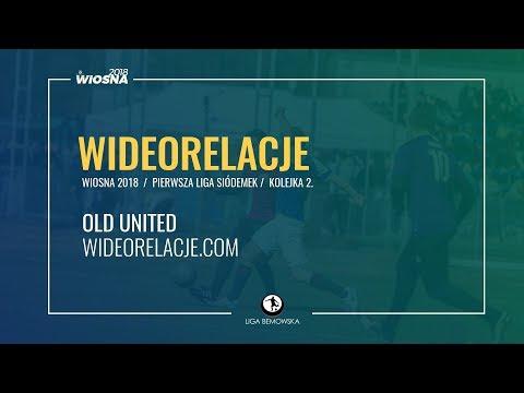 LIGA BEMOWSKA / WIOSNA 2018 / KOLEJKA 2. / OLD  UNITED - WIDEORELACJE.COM