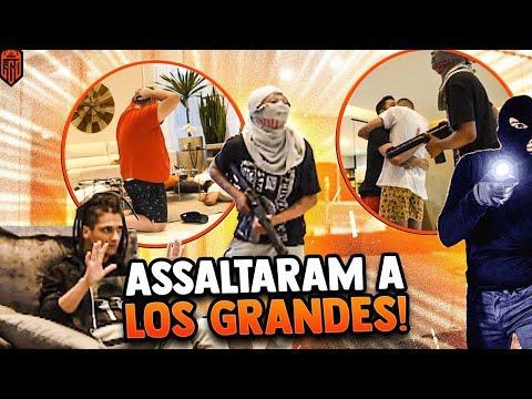 TROLLAMOS A TROPA DO FLAMENGO COM UM ASSALTO!!! ELES FICARAM EM CHOQUE!!! - LOS GRANDES FREE FIRE