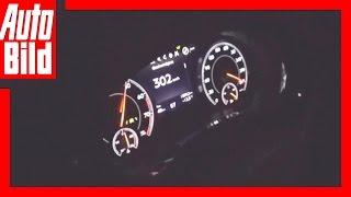 Mitfahrt / Bentley Bentayga / Tacho-Video! by Auto Bild