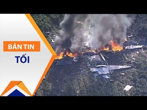 Rơi máy bay quân sự Mỹ: 16 người thiệt mạng | VTC1 - Thời lượng: 46 giây.