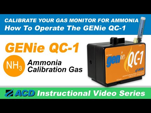GENie-NH3 (QC-1) Instructional Video