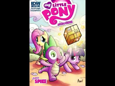 Written review: My Little Pony Micro-Series #9 featuring Spike