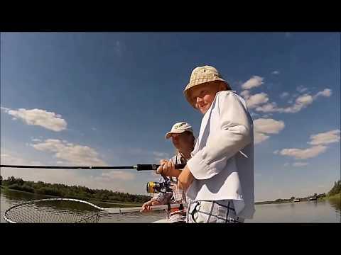 рыбалка с лодки август 2016 видео