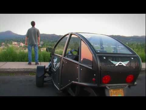 One of the Most Awesome Electric Cars – Arcimoto Generation 4