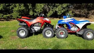 10. Comparing 1991 Honda TRX 250 X to  A 2019 Honda TRX 250 X Oct 20, 2019