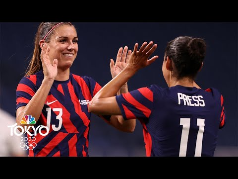 Best of Day 1 at the Tokyo Olympics: The USWNT roars back to life | NBC Sports