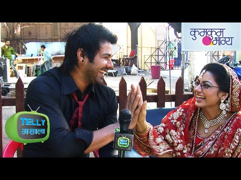 Abhi Pragya Fun Interview On Set Of Kumkum Bhagya | Zee Tv