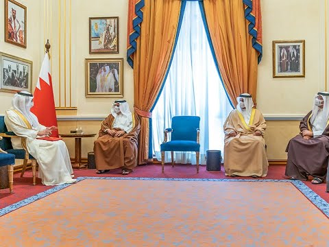 HRH the Crown Prince and Prime Minister receives the ambassador of the United Arab Emirates and welcomes an invitation to visit
