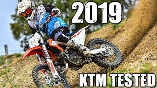 8. MOTOCROSS TESTED: 2019 KTM MX BIKES