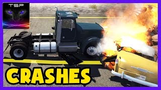 Let's make car soup in BeamNG.drive by crashing car after car into same place! Too bad that flames don't actually do anything, hope they'll add proper burn d...