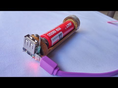 How To Make Battery Vape Charger 2 In 1