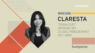 Claresta, Teman Duet Morgan Oey di Lagu 'Mencintaimu' Ost  Arini   BINCANG KUMPARAN