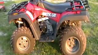 7. 2004 artic cat 400 4x4 ATV ..nhcarman.com.MOD