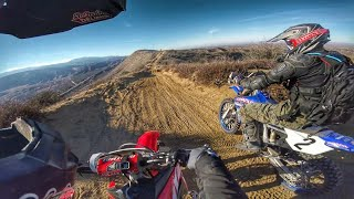 10. First time on a 450! Storming Baldy Mesa - CRF450RX