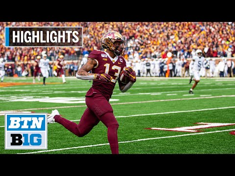 Highlights: Gophers Upset Penn State, Remain Undefeated | Penn State at Minnesota | Nov. 9, 2019