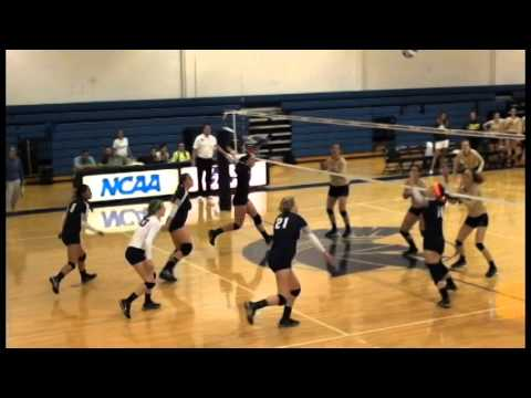 CWRU Volleyball Highlights vs. Franciscan