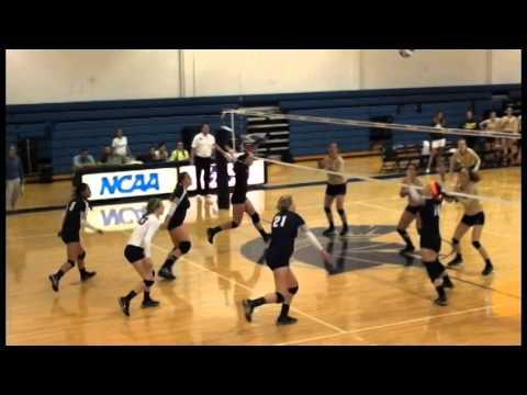 CWRU Volleyball Highlights vs. Franciscan