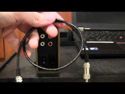 How to connect the audio from laptops, CD/DVD or MP3 players to the PA system