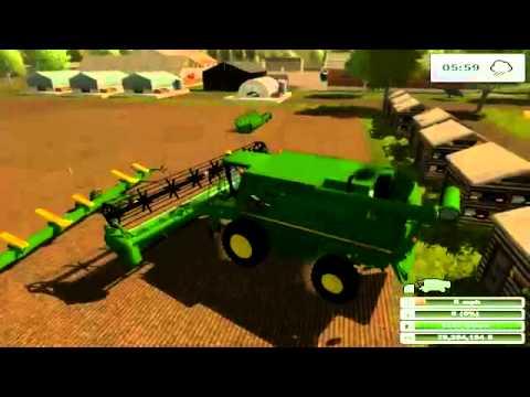 Farming simulator mod John Deere S690I