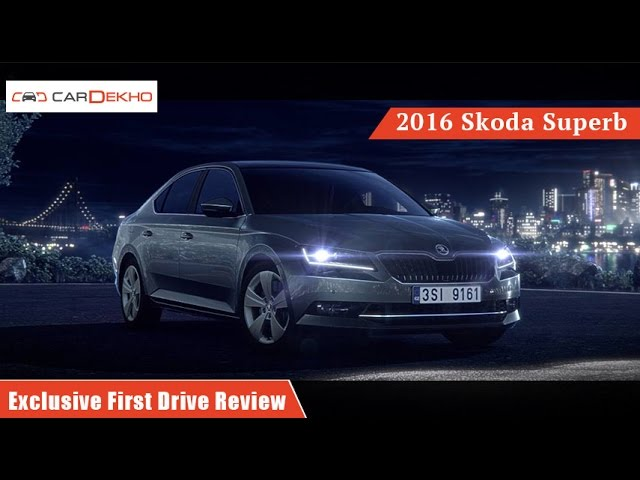 Skoda Superb Exclusive First Drive