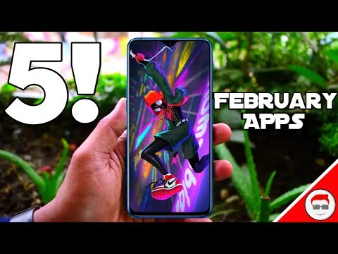 TOP 5 BEST ANDROID APPS MONTH OF FEBRUARY 2019