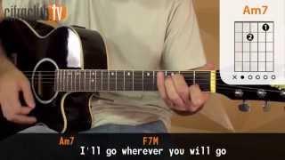 Wherever You Will Go - The Calling (aula de violão simplificada)