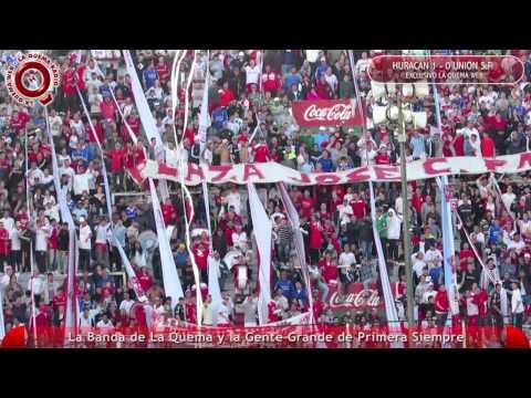 La Banda de La Quema y la Gente en Huracan vs Union - www.laquemaweb.com.ar - La Banda de la Quema - Huracán