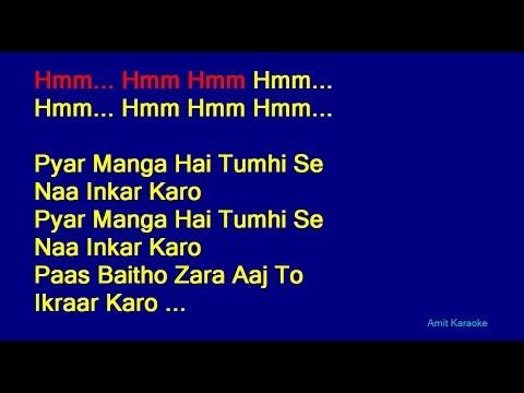 Video Pyar Manga Hai Tumhi Se - Kishore Kumar Hindi Full Karaoke with Lyrics download in MP3, 3GP, MP4, WEBM, AVI, FLV January 2017