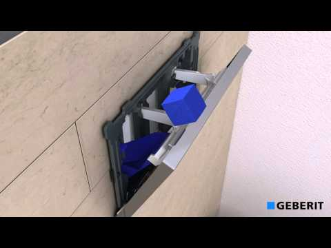 Geberit Actuator Plate Sigma50 with BlueCube - Functionality