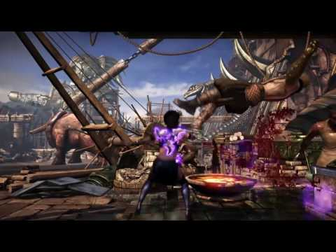 MKX:Mournful Combos & Setups Preview(Styling) (видео)