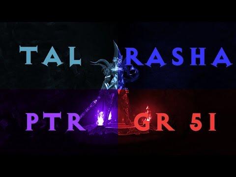[PTR] Diablo 3 Tal Rasha Wizard GR 51 Solo (2.2.0)