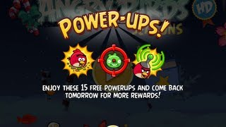 Angry Birds Seasons PowerUps