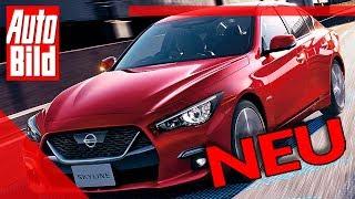 Nissan Skyline (2019) - Neu - Sitzprobe - Meinung - Deutschland by Auto Bild