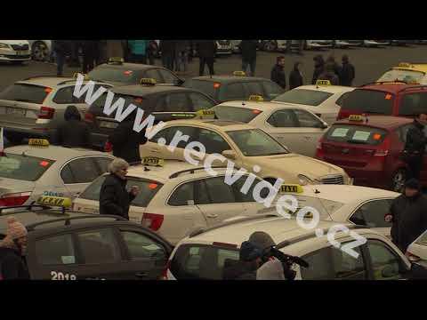ČR - aktualita - doprava - Praha - taxi - Strahov - protest