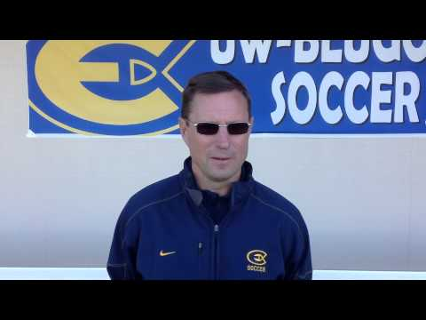 Women's Soccer - UW-Eau Claire vs. UW-Stevens Point - Coach Yengo Post-Game