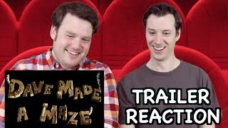 Nonton Dave Made a Maze - Official Trailer Reaction Film Subtitle Indonesia Streaming Movie Download