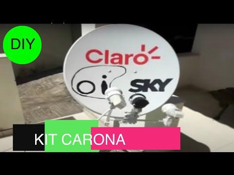 Tutorial Kit Carona 43W[61W]70W DISEQC 60cm S1001