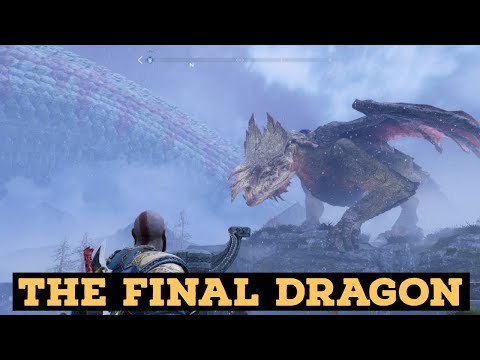 GOD OF WAR 4 Walkthrough Gameplay Part 51 -  The Final Dragon (King's Hollow)