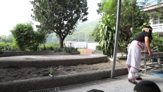 [沉浸式族語教學幼兒園-示範影片]-戶外教學-種植[蔥苗]-見晴國小附設幼兒園