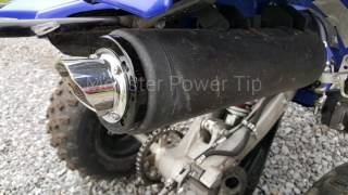 9. 2016 Yamaha Raptor 700R from stock to full exhaust demo