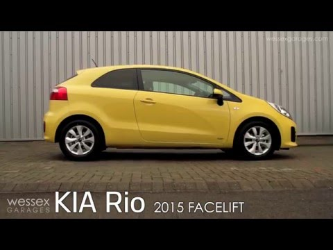 Kia Rio 2015 Facelift | Wessex Garages Review