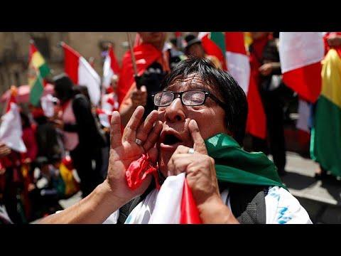 Βολιβία: Ο Μοράλες παρέδωσε την εξουσία-Πανηγυρισμοί στην Λα Παθ…