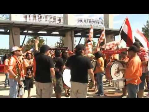 Video - The North End - Dynamo vs FC Dallas - 09/24/2011- Pregame - The North End - Houston Dynamo - Estados Unidos