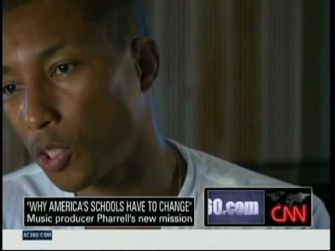 Pharrell Williams x Perrys Principles on Anderson Cooper 360 | Video