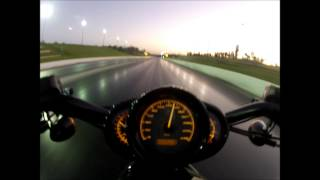 7. VROD VRSCDX Night Rod Special 1/4 Mile Drag Run 11.1 @ 117mph