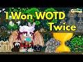 I Won WOTD Twice | Growtopia
