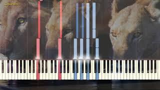 Какой чудесный мир - Louis Armstorng (Ноты и Видеоурок для фортепиано) (piano cover)